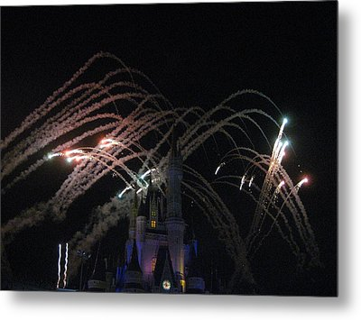Walt Disney World Resort - Magic Kingdom - 121265 Metal Print