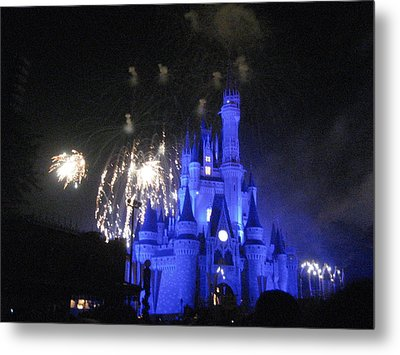 Walt Disney World Resort - Magic Kingdom - 121277 Metal Print by DC Photographer