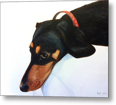 Walter - Waiting For Momma Metal Print by Kevin Hill