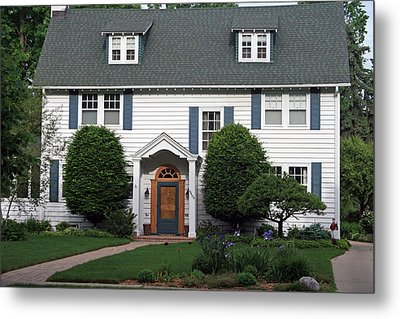 Walter J. Frost Home Metal Print by Kay Novy
