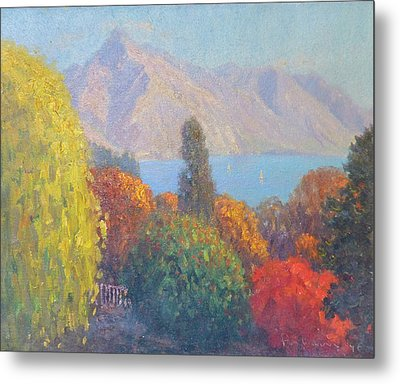 Walter Peak Queenstown Nz Metal Print