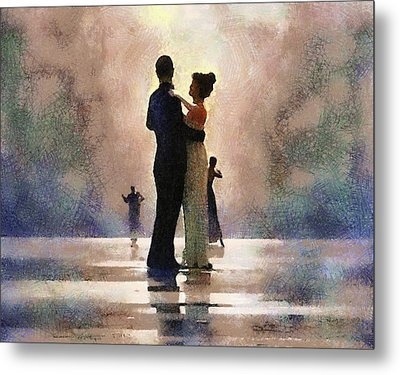 Waltz Like A Mirage Metal Print by Georgi Dimitrov