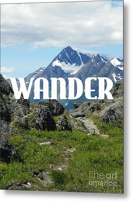 Wander Metal Print by Jennifer Kimberly