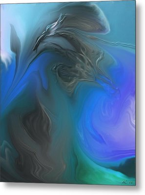 Wandering The Rift Metal Print