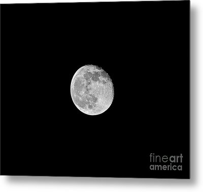 Waning Flower Moon Metal Print by Al Powell Photography USA