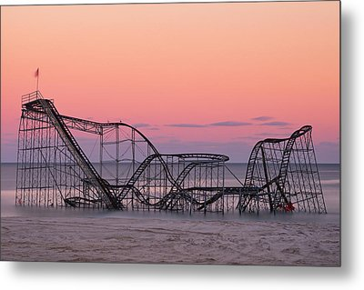 Wanna Go For A Ride Metal Print by Mike Orso