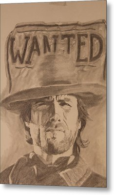 Wanted Metal Print by Michael McGrath