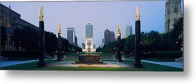 War Memorial In A City, Cenotaph Metal Print by Panoramic Images