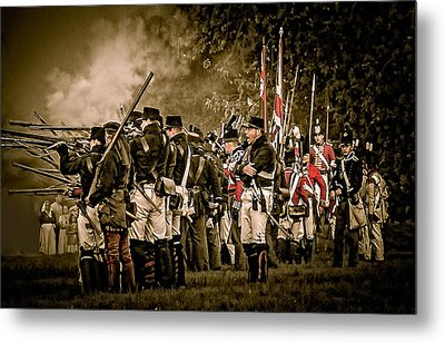 War Of 1812 Metal Print
