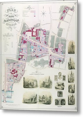 Ward Of Farringdon Metal Print by British Library