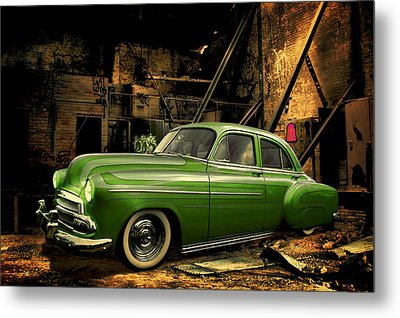 Metal Print featuring the photograph Warehouse Gem by Steven Agius