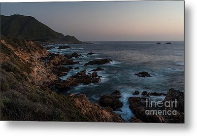 Warm California Evening Metal Print by Mike Reid