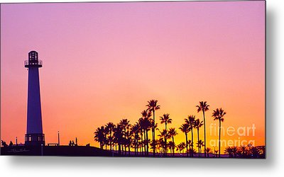 Warm Sunset Metal Print by Gem S Visionary