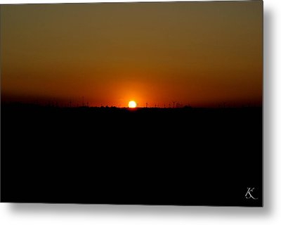Warm Sunset Metal Print