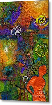 Warm Vibes Metal Print by Angela L Walker