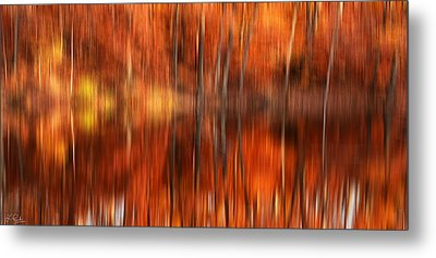 Warmth Impression Metal Print