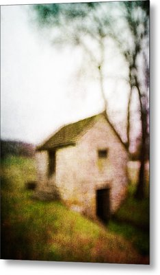 Warner Park Springhouse Metal Print by David Morel