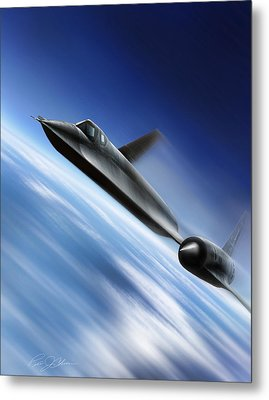 Warp Speed Metal Print by Peter Chilelli
