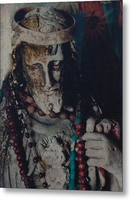 Warrior Of The Spirit Metal Print by Carla Woody