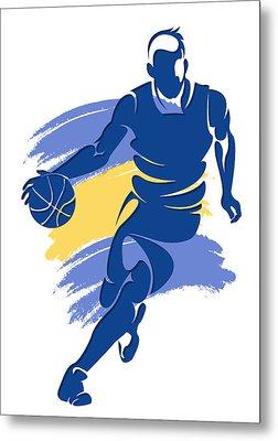 Warriors Basketball Player6 Metal Print by Joe Hamilton
