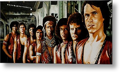 Warriors Come Out To Play Metal Print by Al  Molina
