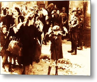 Warsaw Ghetto 1943 Metal Print