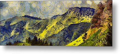 Wasatch Range Spring Colors Metal Print by Dan Sproul