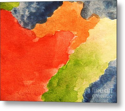 Wash Away Metal Print by Andrea Anderegg