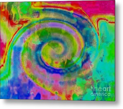 Wash Of Color Metal Print