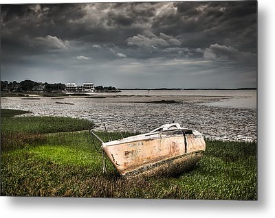 Washed Ashore Metal Print by Andrew Crispi
