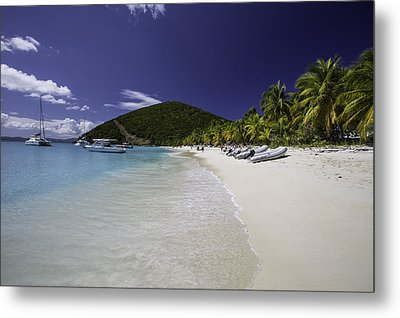 Washed Ashore At Jost Van Dyke Metal Print