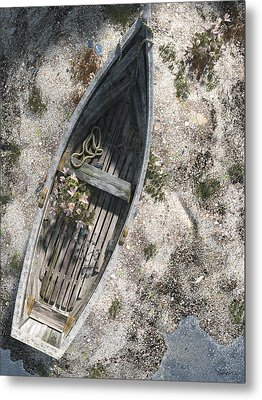 Washed Ashore Metal Print by Cynthia Decker