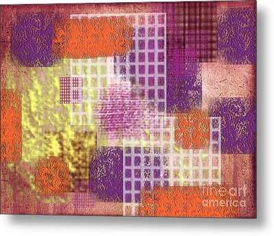 Washi Papers 1 Metal Print by Delphimages Photo Creations