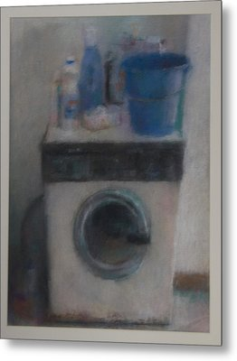 Washing Machine Metal Print by Paez  Antonio