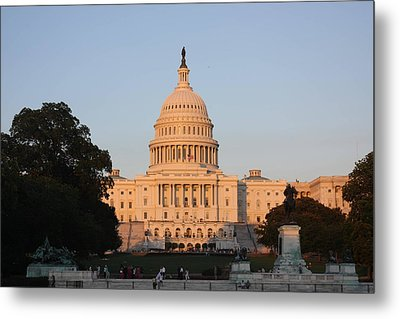 Washington Dc - Us Capitol - 011313 Metal Print by DC Photographer