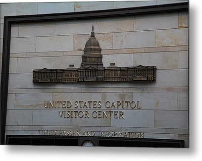 Washington Dc - Us Capitol - 01133 Metal Print by DC Photographer