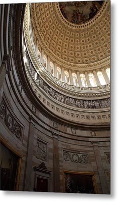 Washington Dc - Us Capitol - 01138 Metal Print