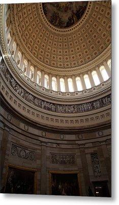 Washington Dc - Us Capitol - 01139 Metal Print