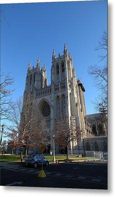 Washington National Cathedral - Washington Dc - 0113115 Metal Print by DC Photographer