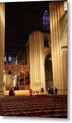 Washington National Cathedral - Washington Dc - 011312 Metal Print by DC Photographer