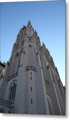 Washington National Cathedral - Washington Dc - 0113121 Metal Print by DC Photographer