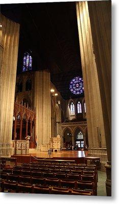 Washington National Cathedral - Washington Dc - 011314 Metal Print by DC Photographer