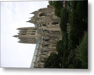 Washington National Cathedral - Washington Dc - 011350 Metal Print by DC Photographer