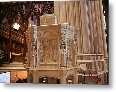 Washington National Cathedral - Washington Dc - 011395 Metal Print by DC Photographer