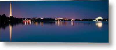 Washington Skyline Metal Print by Sebastian Musial
