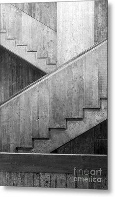 Washington University Eliot Hall Stairway Metal Print by University Icons