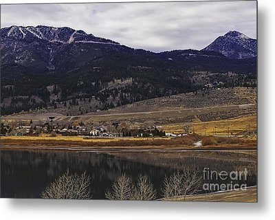 Washoe Valley Metal Print by Nancy Marie Ricketts