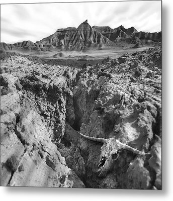 Wasteland Metal Print by Mike McGlothlen