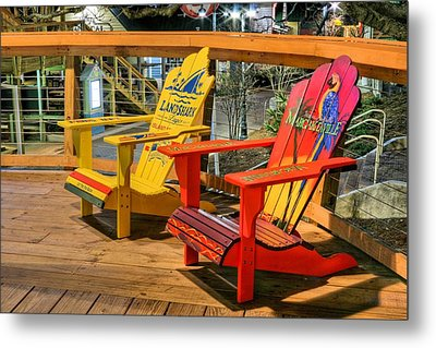 Wasting Away Again In Destin Metal Print by JC Findley