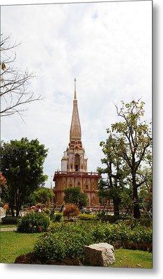 Wat Chalong - Phuket Thailand - 01134 Metal Print